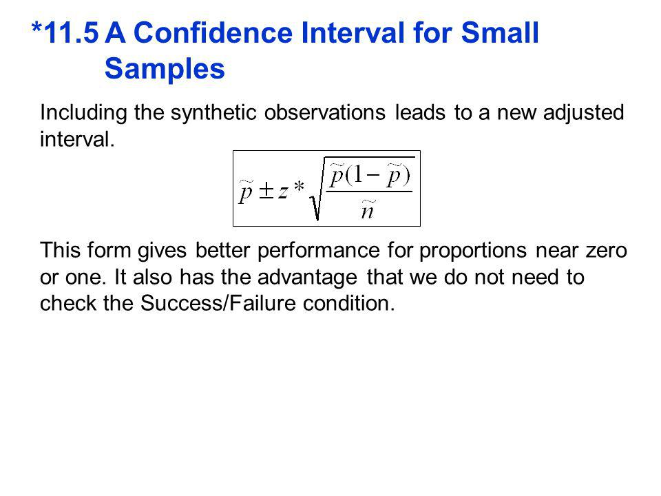 *11.5 A Confidence Interval for Small Samples