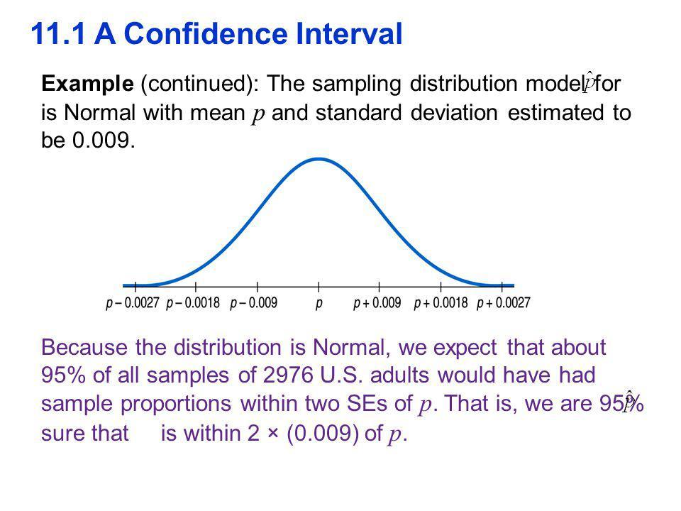 QTM1310/ Sharpe 11.1 A Confidence Interval.