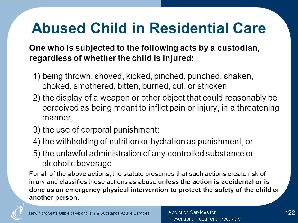 Abused Child in Residential Care