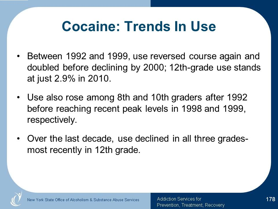 Cocaine: Trends In Use
