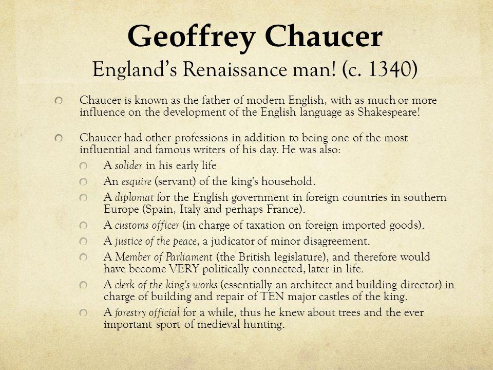 England's Renaissance man! (c. 1340)