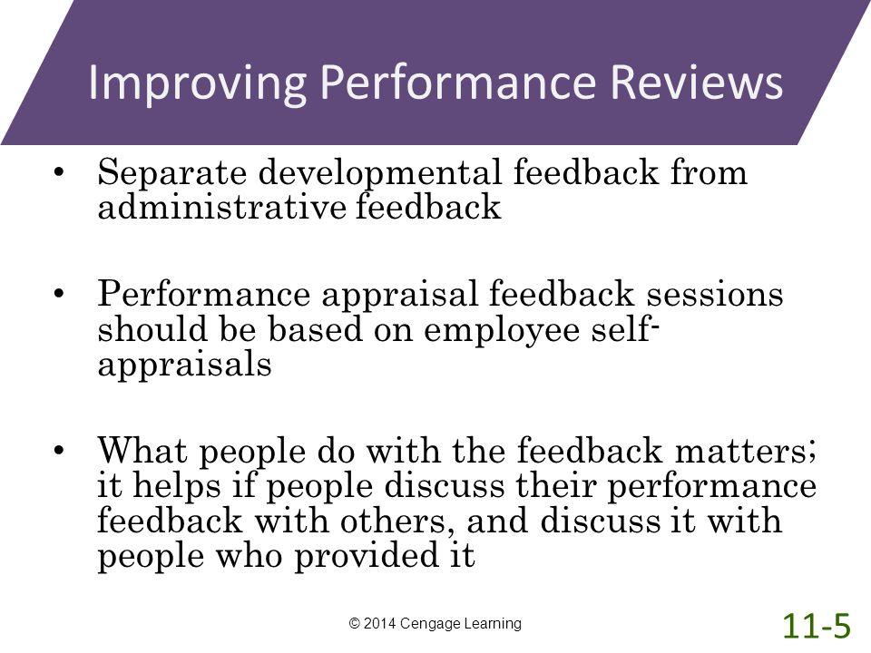 Improving Performance Reviews