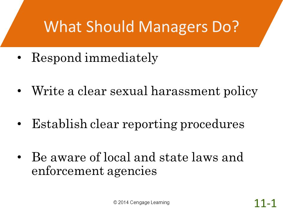 What Should Managers Do