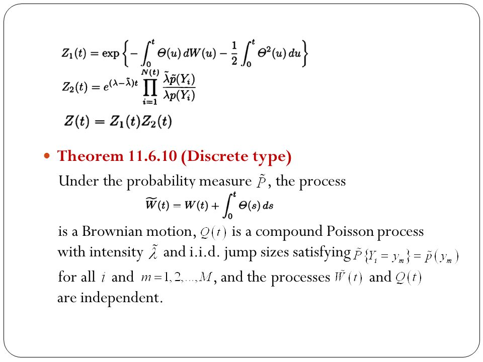 Theorem 11.6.10 (Discrete type)