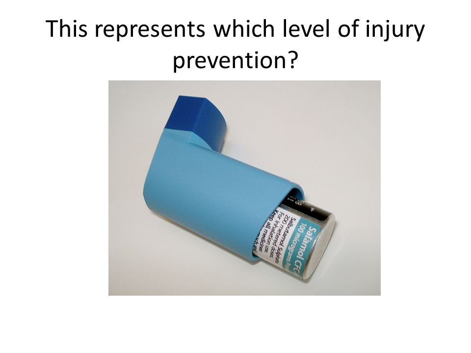 This represents which level of injury prevention
