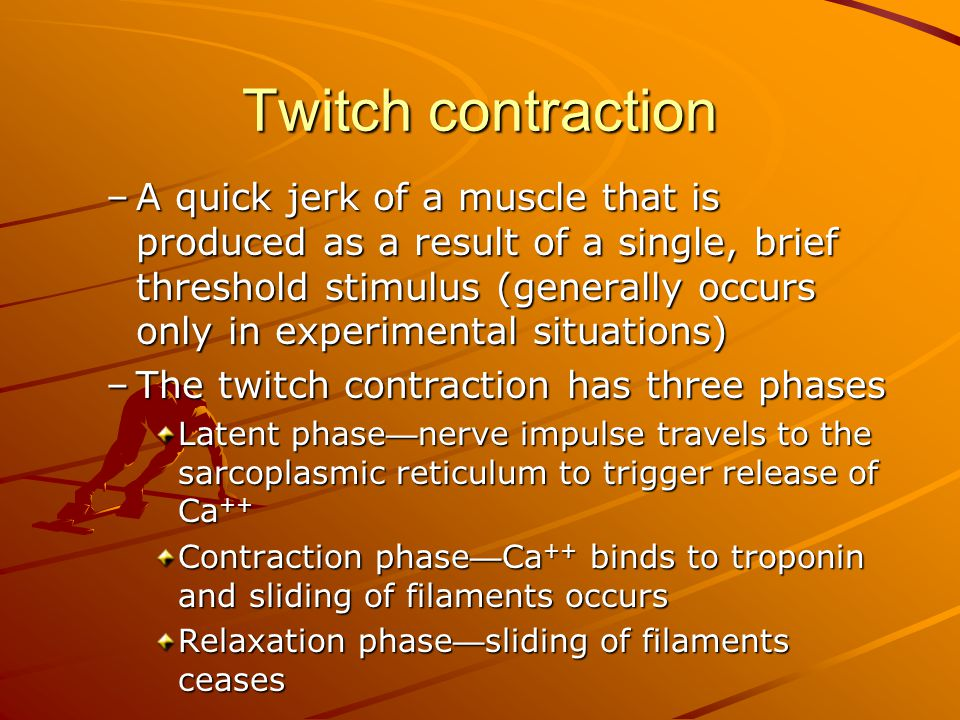 Twitch contraction