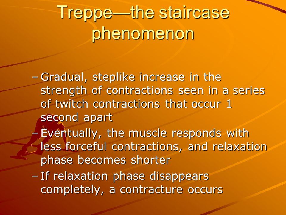 Treppe—the staircase phenomenon