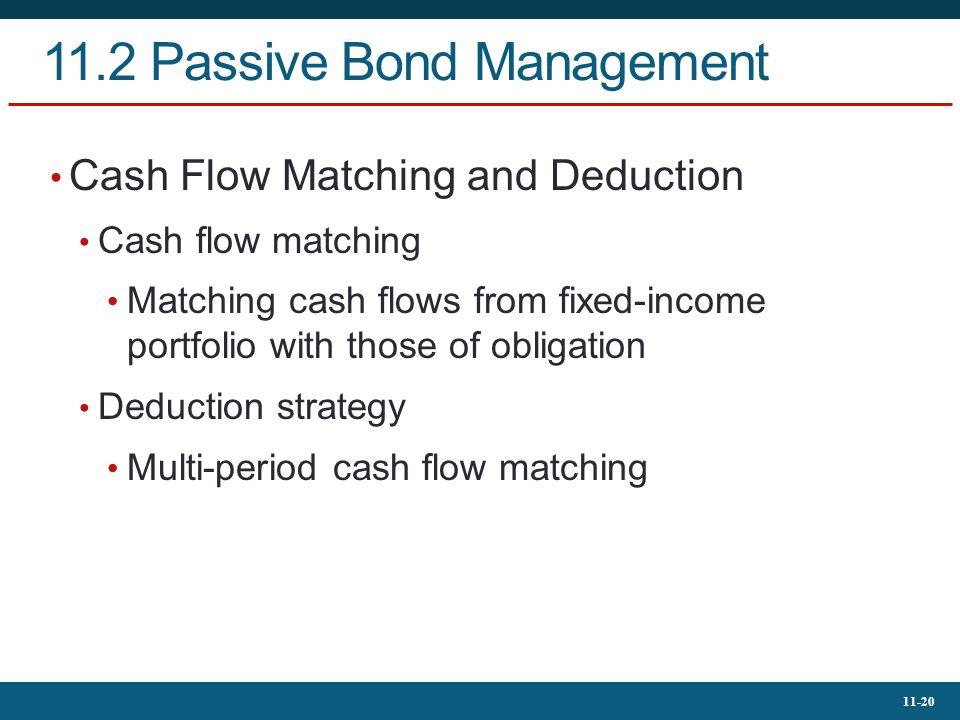 11.2 Passive Bond Management