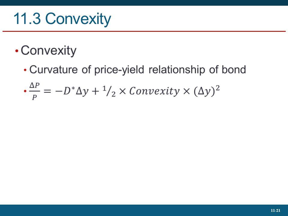 11.3 Convexity