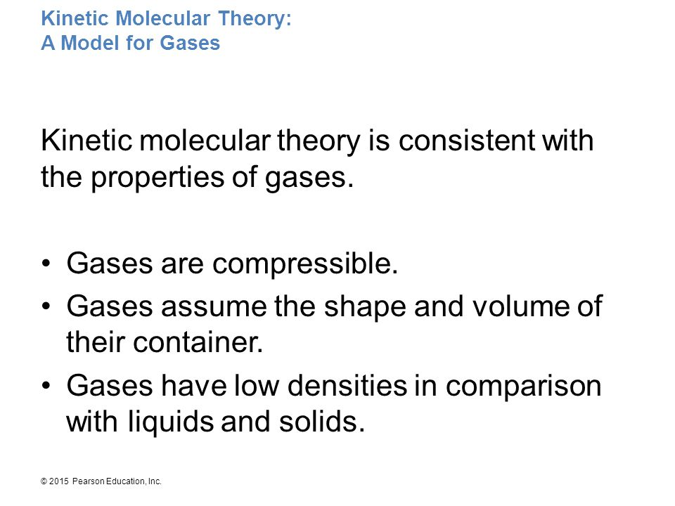 Kinetic Molecular Theory: A Model for Gases