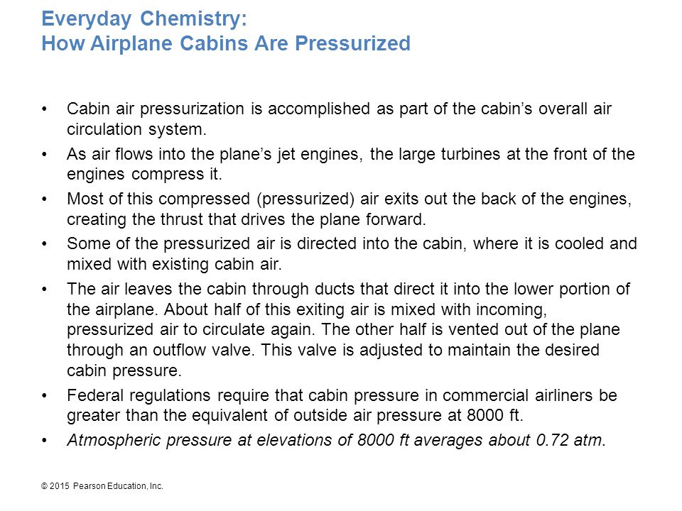 Everyday Chemistry: How Airplane Cabins Are Pressurized