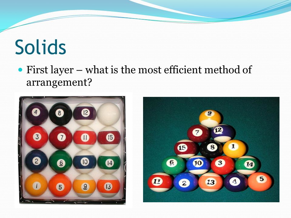 Solids First layer – what is the most efficient method of arrangement