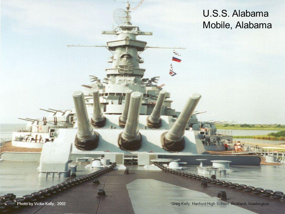 U.S.S. Alabama Mobile, Alabama