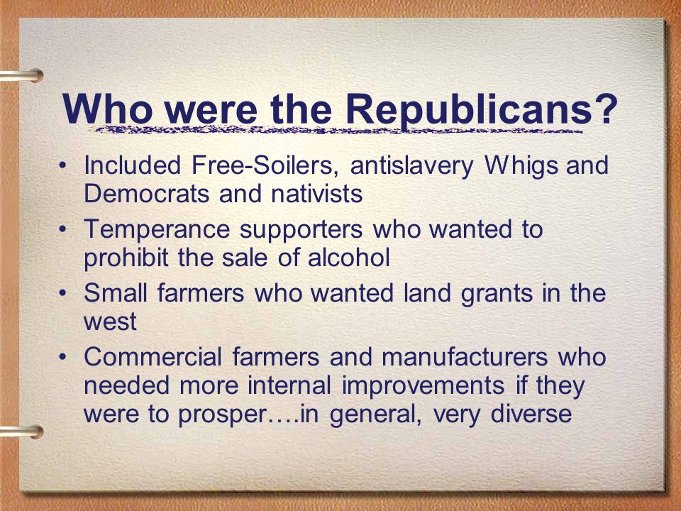 Who were the Republicans
