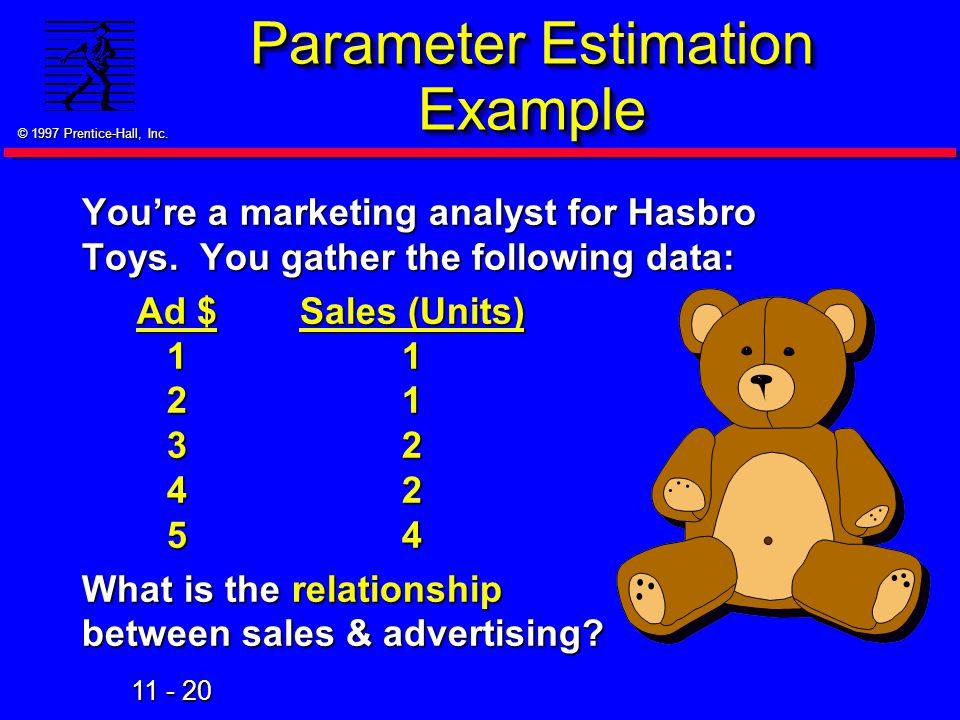 Parameter Estimation Example