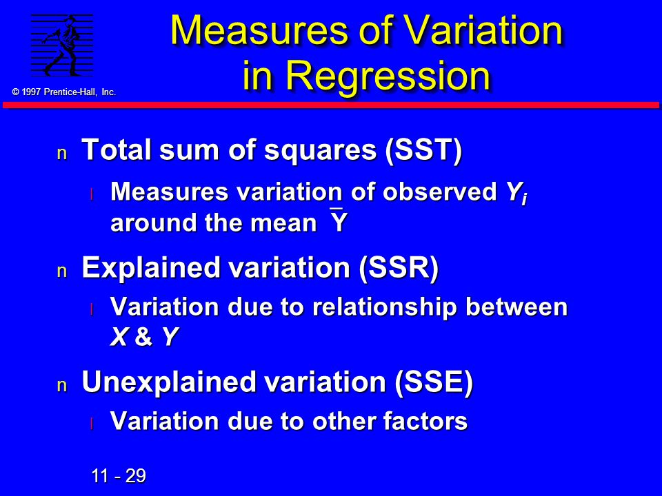Measures of Variation in Regression