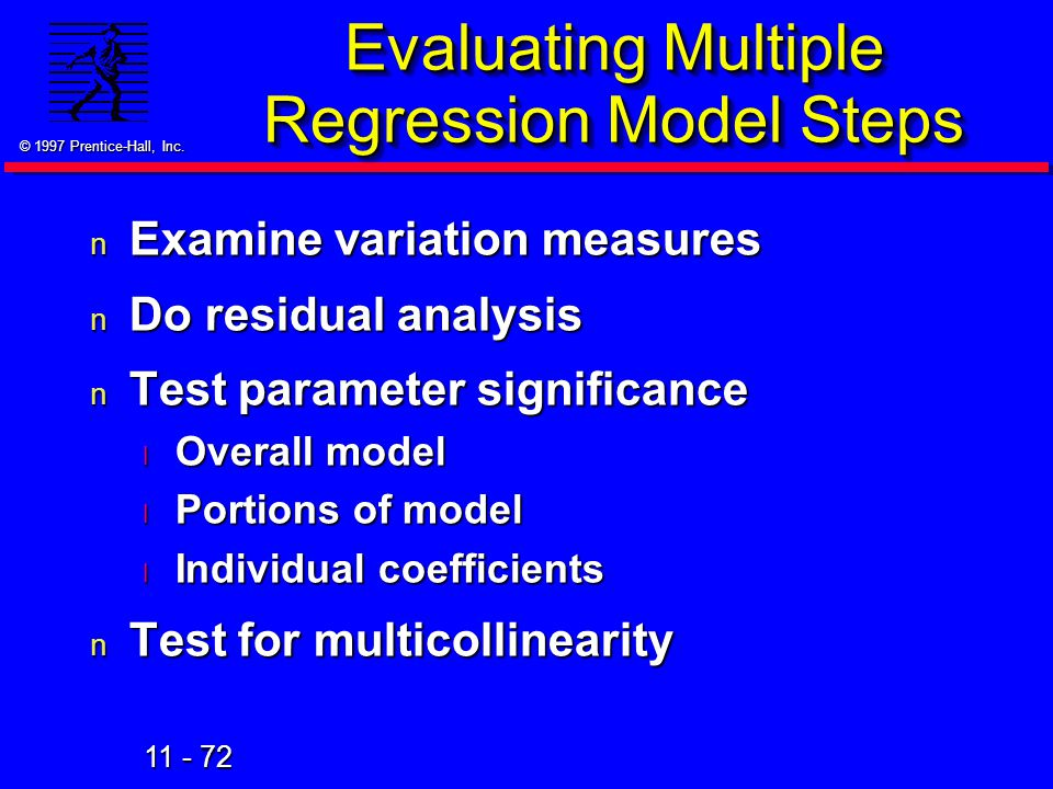 Evaluating Multiple Regression Model Steps
