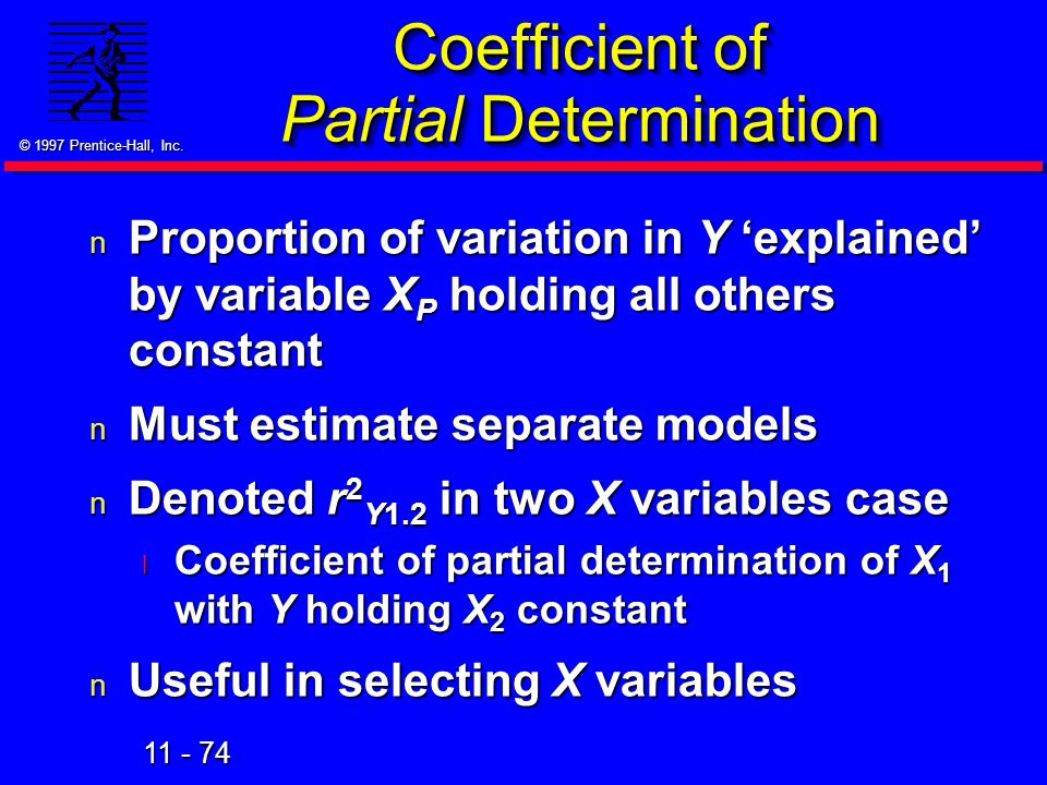 Coefficient of Partial Determination