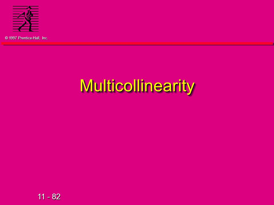 Multicollinearity 39