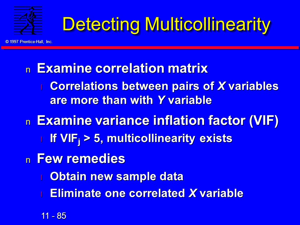 Detecting Multicollinearity