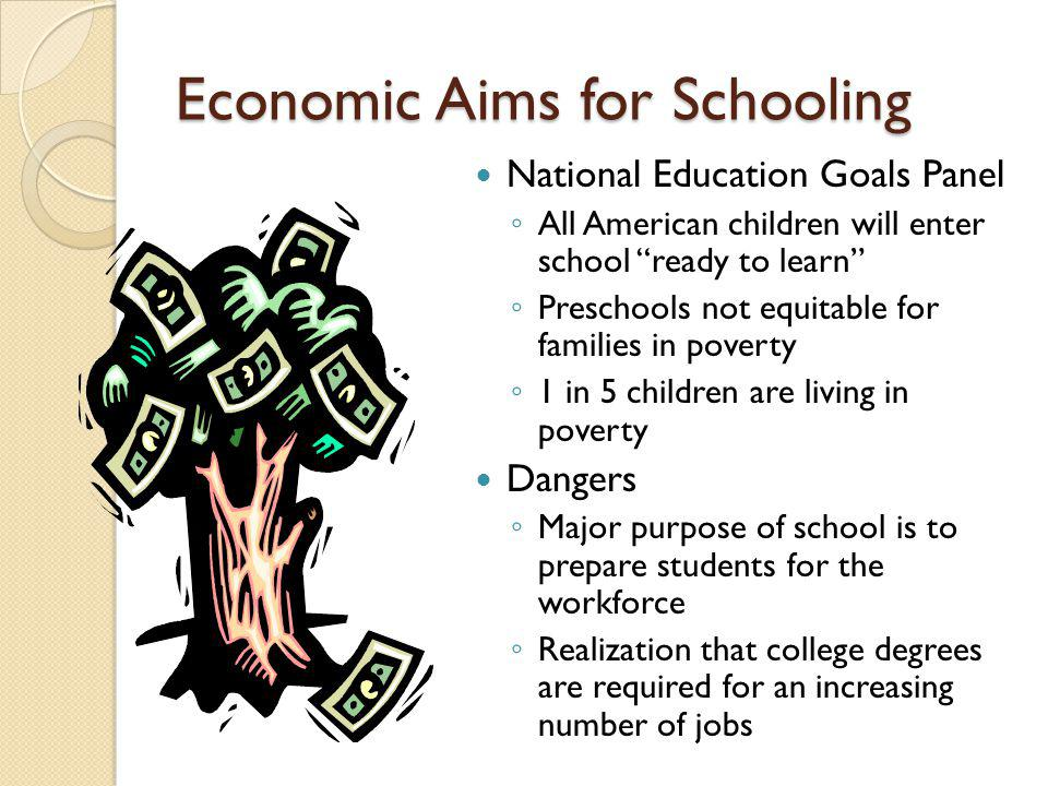 Economic Aims for Schooling