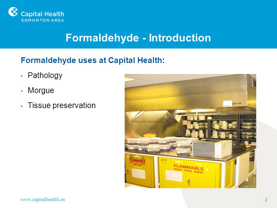 Formaldehyde - Introduction