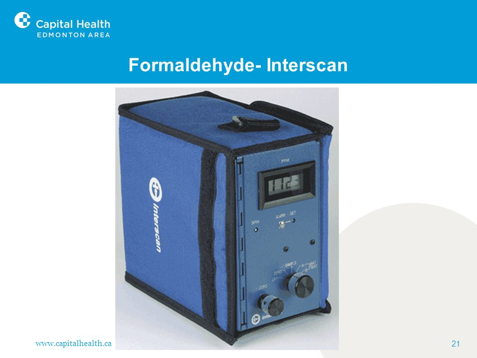 Formaldehyde- Interscan