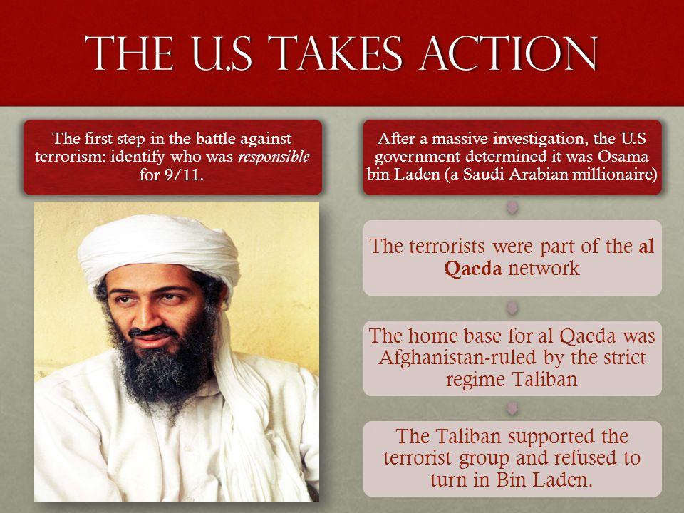 The terrorists were part of the al Qaeda network