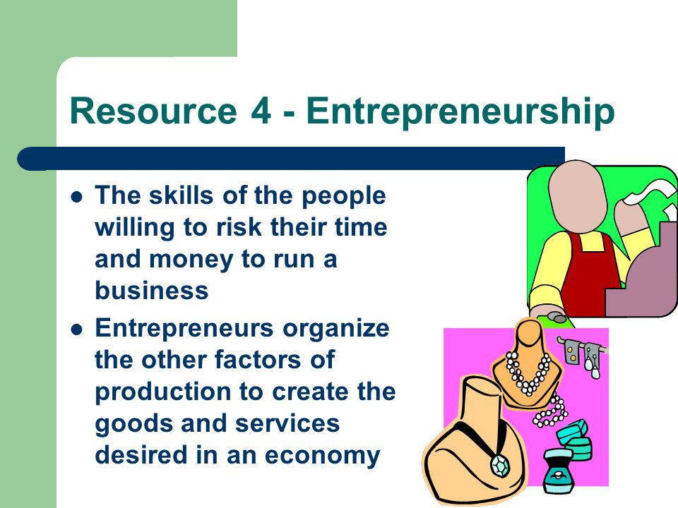 Resource 4 - Entrepreneurship