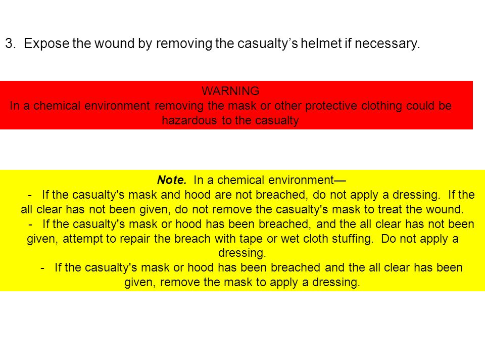 Note. In a chemical environment—