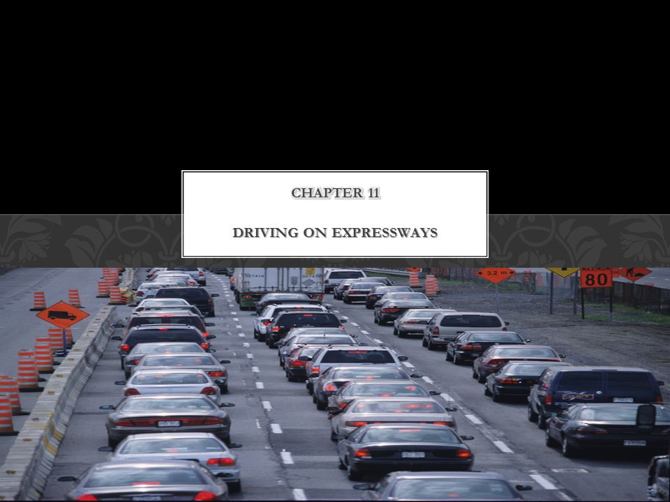 DRIVING ON EXPRESSWAYS