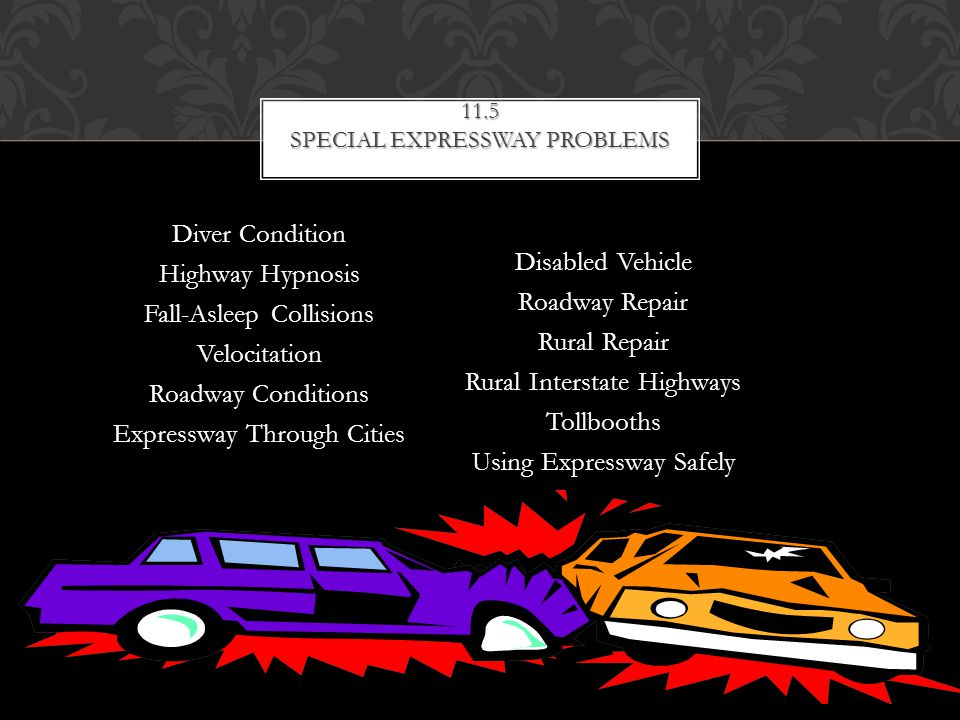 11.5 Special expressway problems