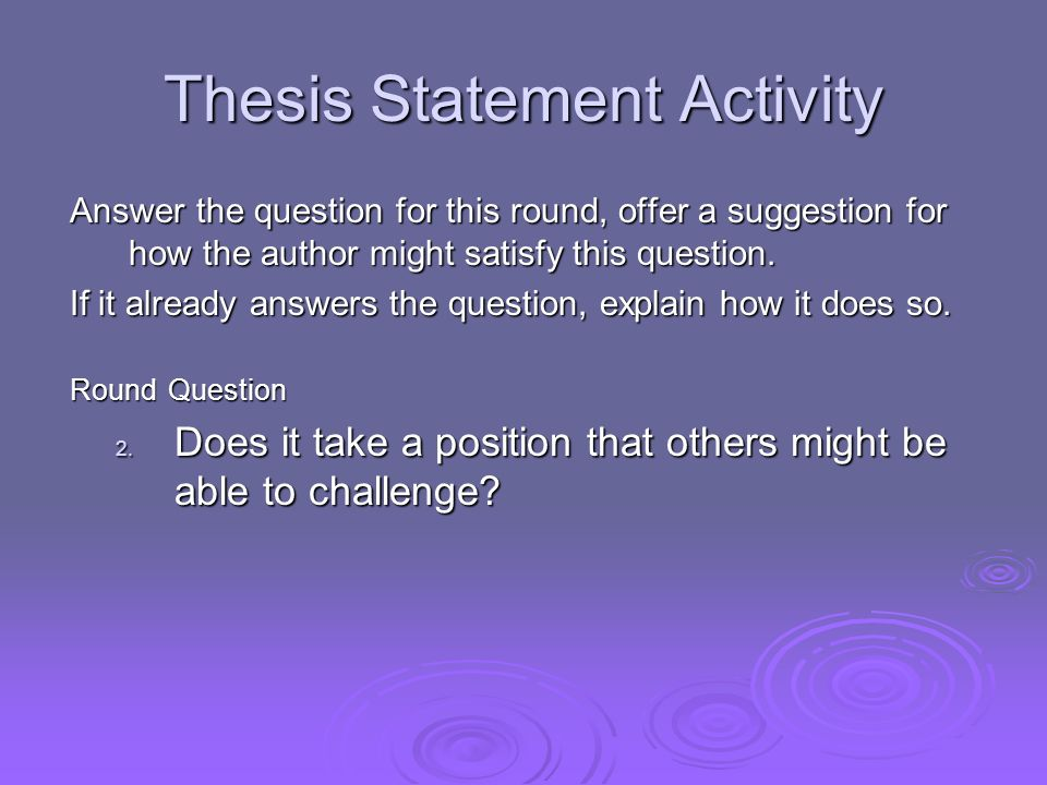 part statement thesis Thesis statement a thesis statement usually appears at the end of the introductory paragraph of a paper, and it offers a concise summary of the main point or claim of the essay, research paper, etc a thesis statement is usually one sentence that appears at the beginning, though it may occur more than once.
