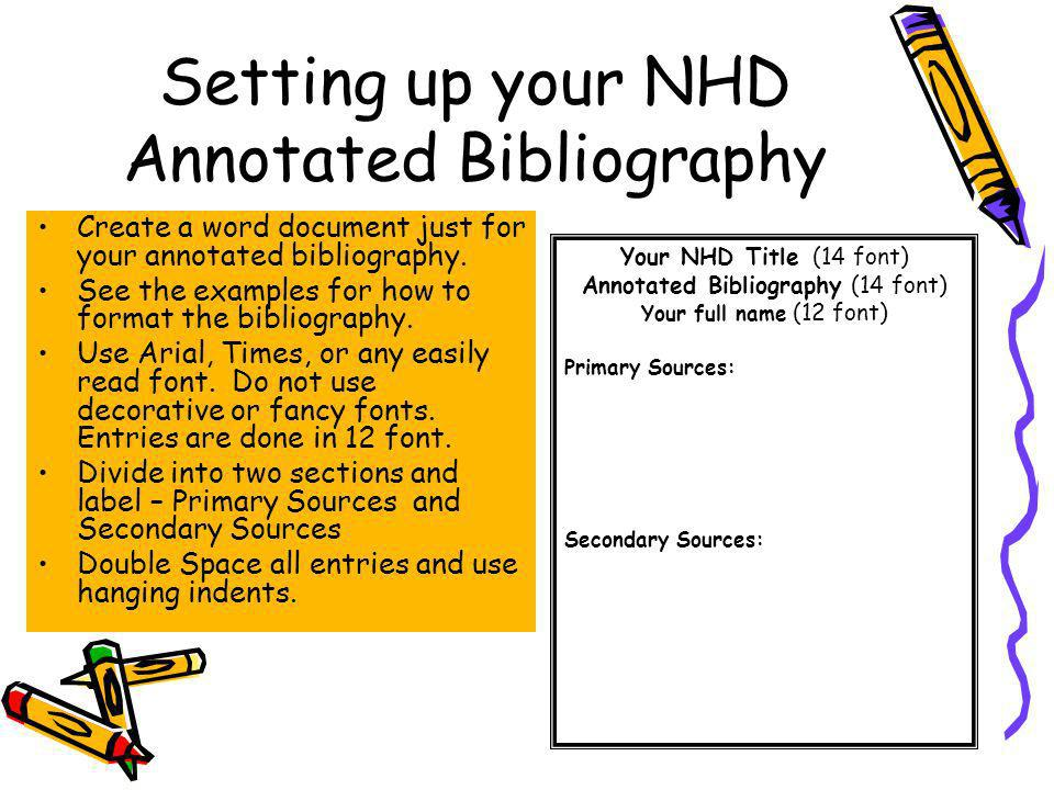 annotated biblipgraphy Annotated bibliography what is an annotated bibliography essentially, an annotated bibliography is an organized way of taking notes dictionarycom defines annotation as.