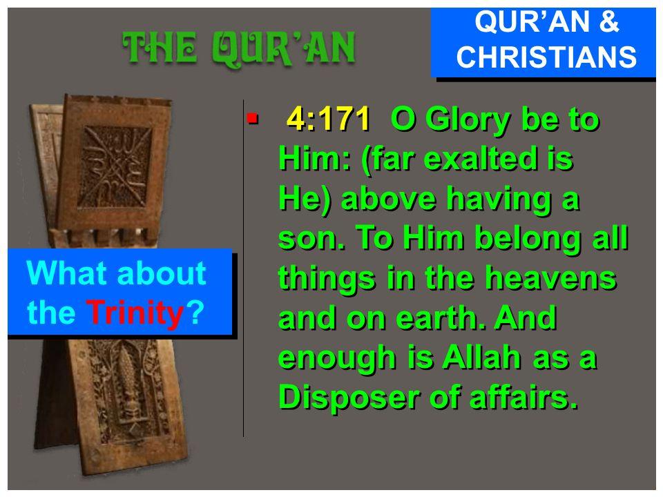 QUR'AN & CHRISTIANS