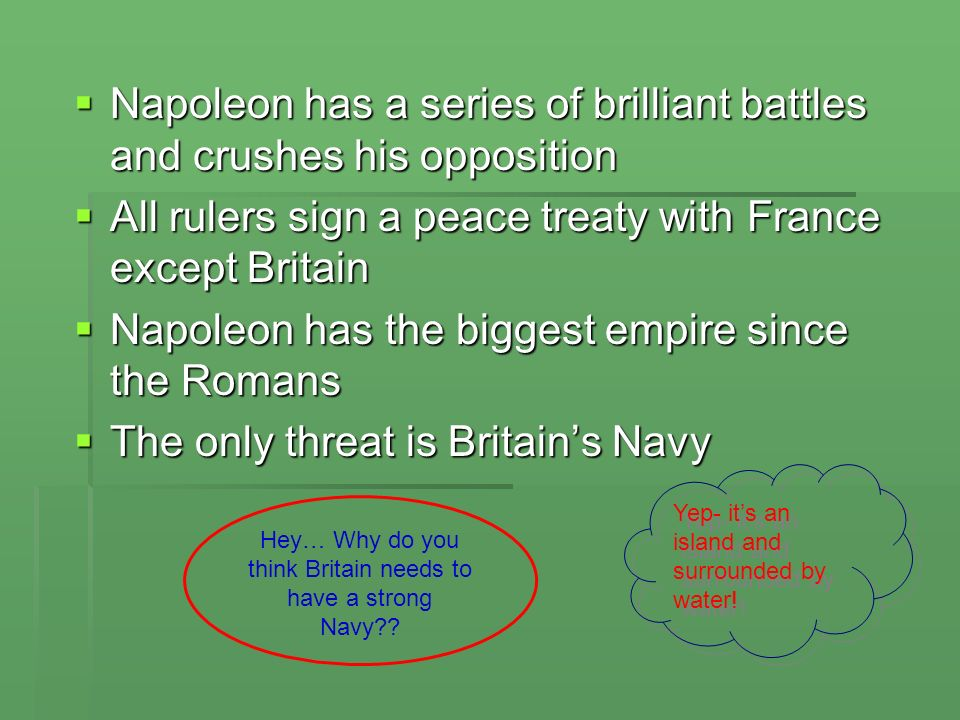 Hey… Why do you think Britain needs to have a strong Navy