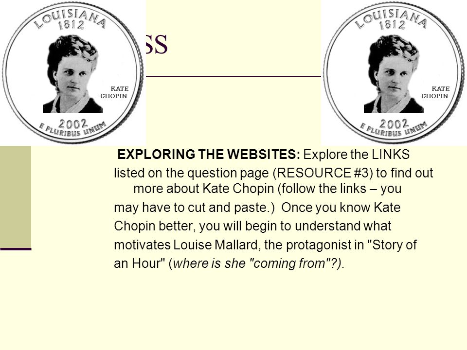 PROCESS EXPLORING THE WEBSITES: Explore the LINKS