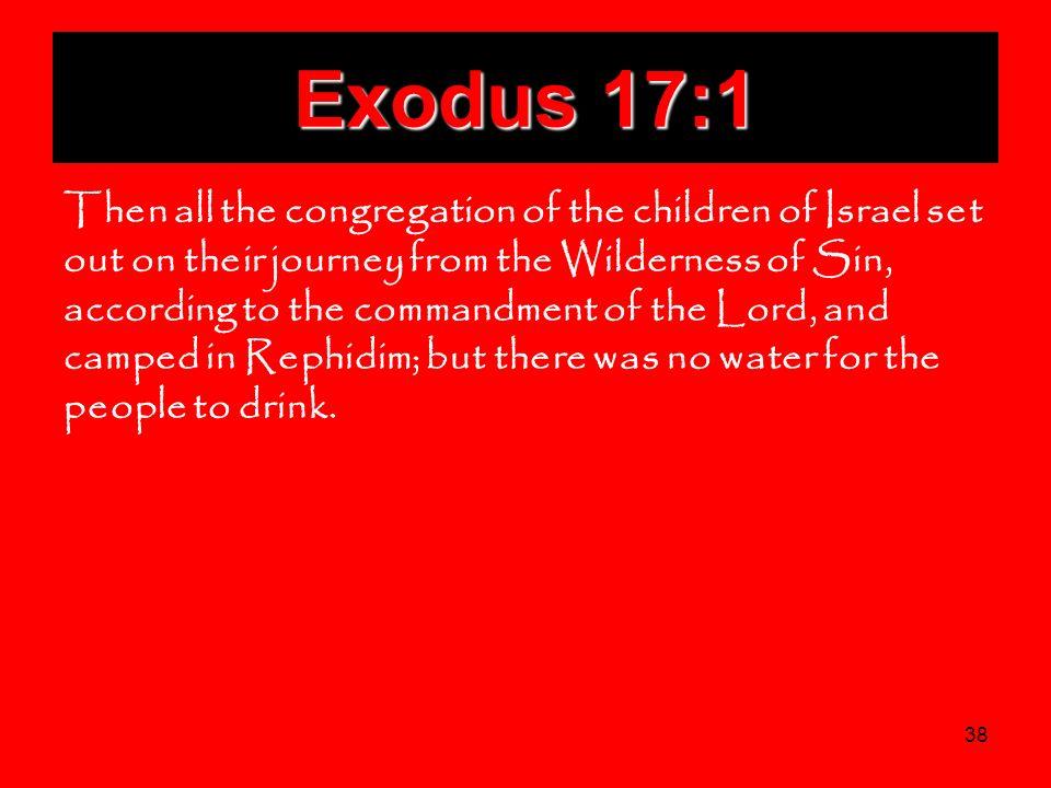 Exodus 17:1