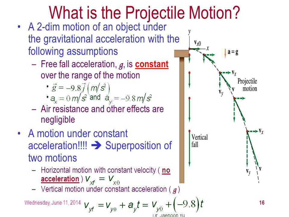 What is the Projectile Motion