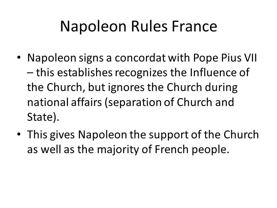 Napoleon Rules France