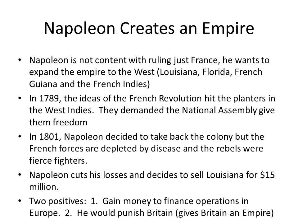 Napoleon Creates an Empire