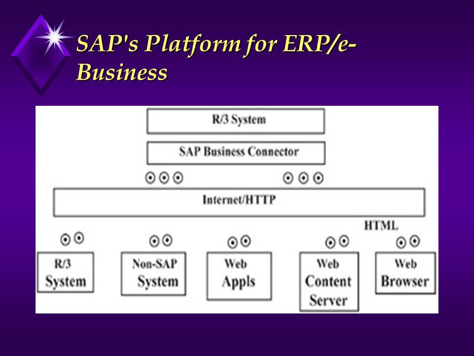 SAP s Platform for ERP/e-Business