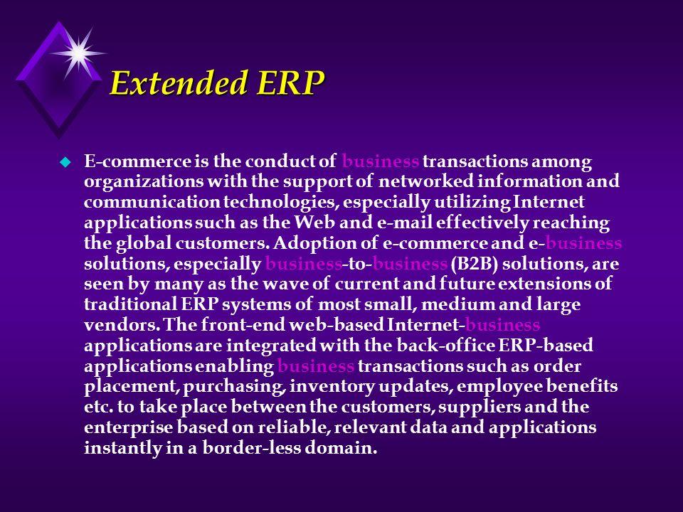 Extended ERP