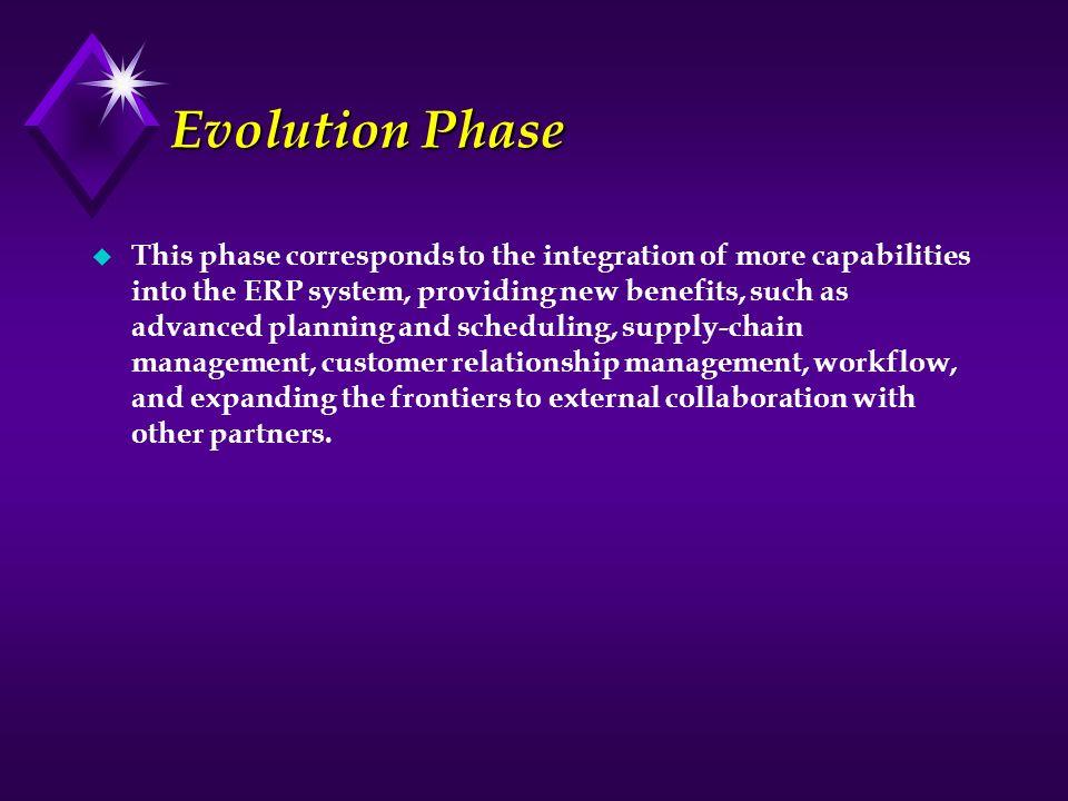 Evolution Phase