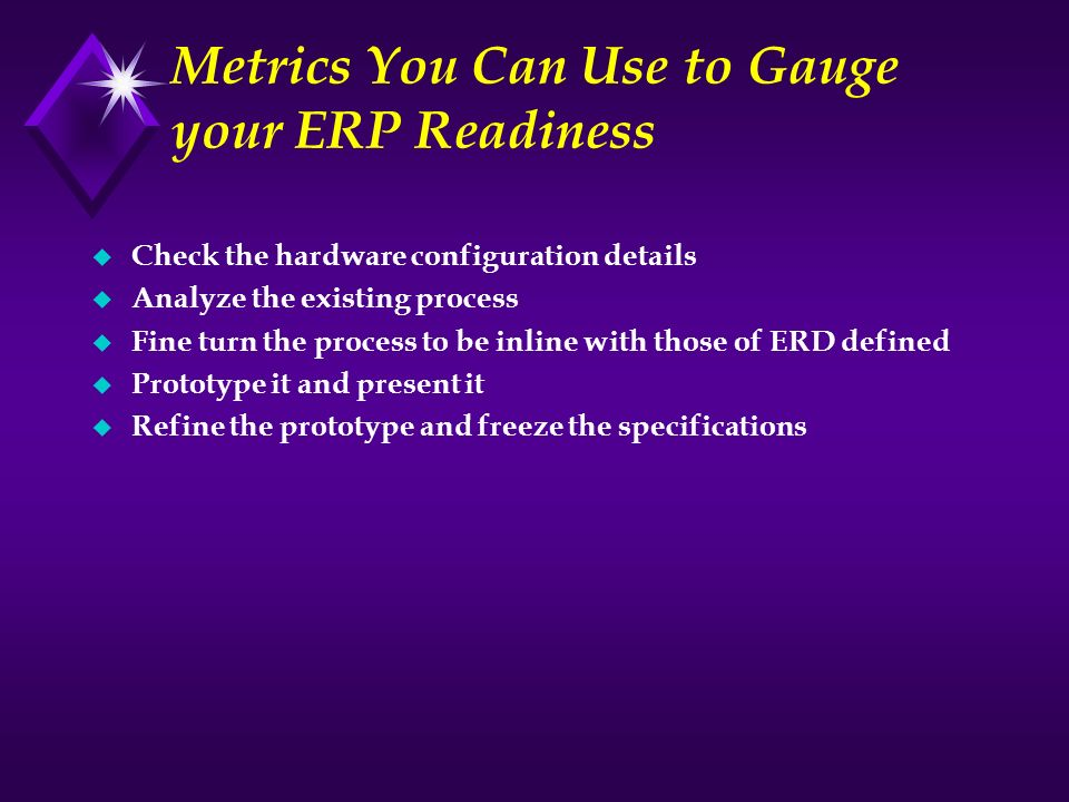 Metrics You Can Use to Gauge your ERP Readiness