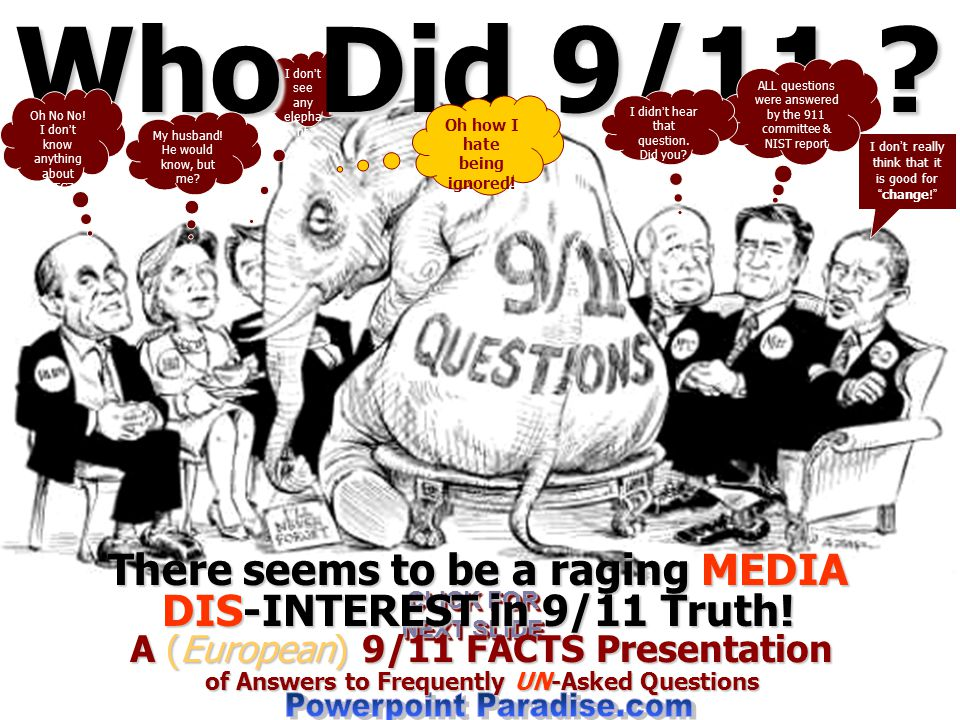 Who Did 9/11 Powerpoint Paradise.com
