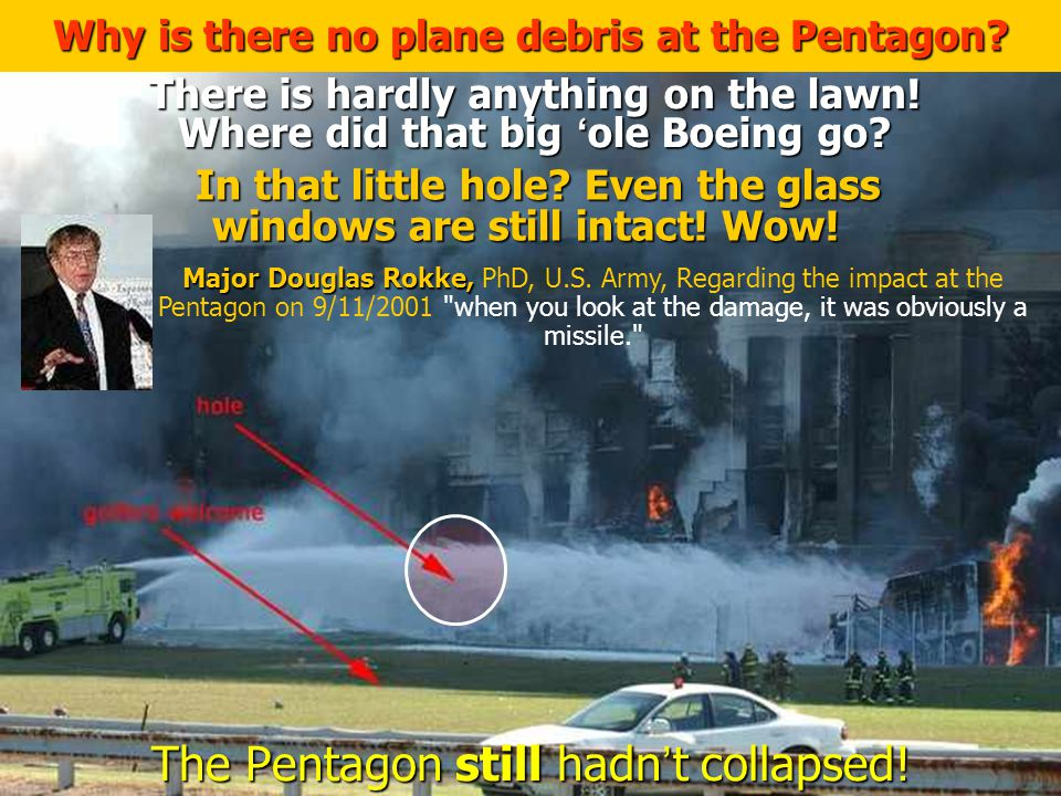 The Pentagon still hadn't collapsed!