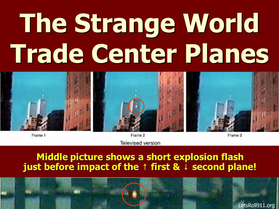 The Strange World Trade Center Planes