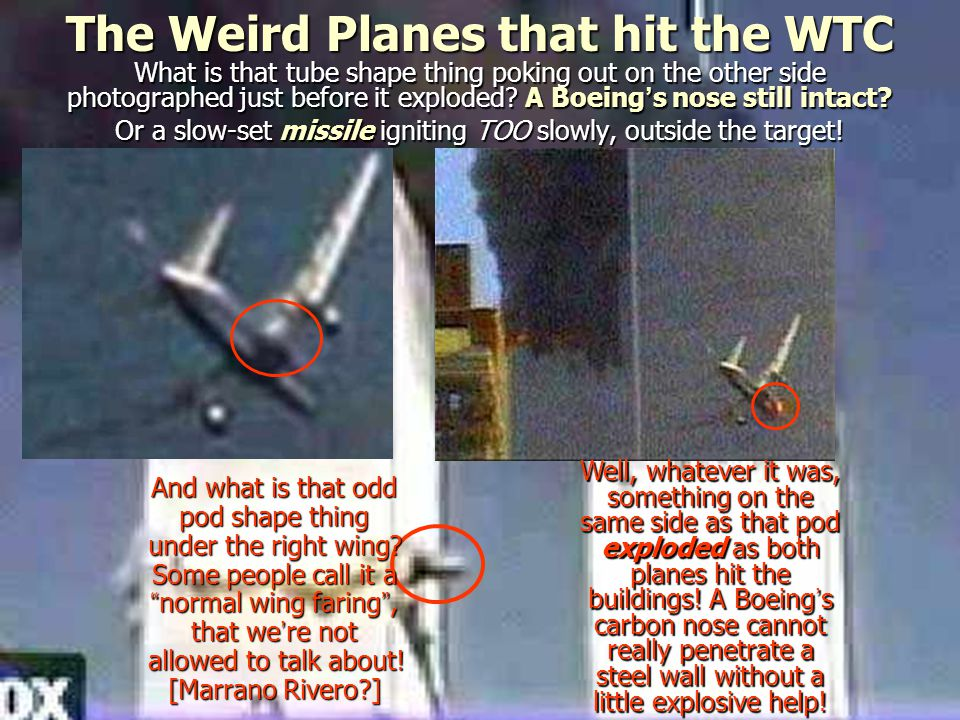 The Weird Planes that hit the WTC