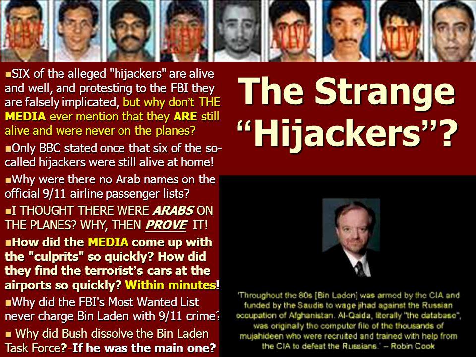 The Strange Hijackers
